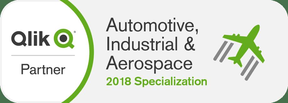 Automotive, Industrial & Aerospace – Nowa specjalizacja Qlik