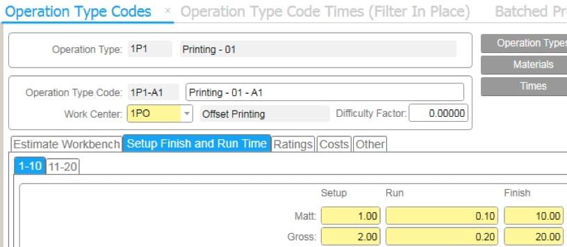 Rozszerzenie Produkcji – Printing and Packaging - screen z narzedzia