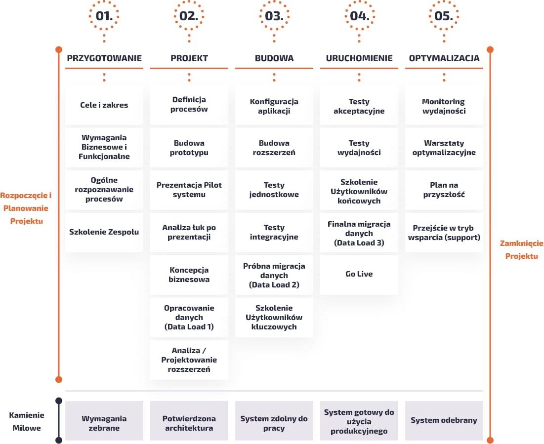 Schemat - Realizacja, Monitoring i Kontrola Projektu