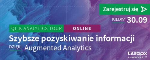 Qlik Analytics Tour 2020 - szybsze pozyskiwanie informacji