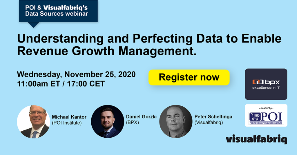 """Webinarium """"Understanding and Perfecting Data to Enable Revenue Growth Management"""""""
